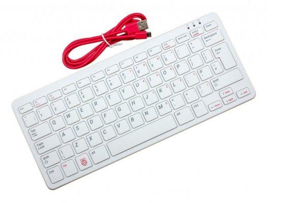 raspberry-pi RASPBERRY PI Official Raspberry Pi Keyboard, UK language, Red-White, RPi-KYB