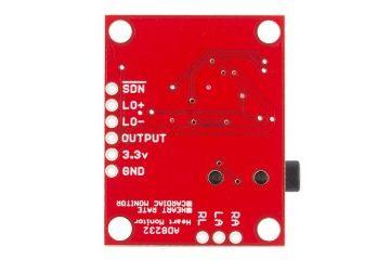 senzorji SPARKFUN Single Lead Heart Rate Monitor - AD8232, SPARKFUN SEN-12650