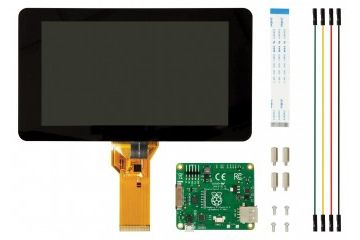 razvojni dodatki RASPBERRY PI Raspberry Pi 7 inch Touch Screen Display with 10 Finger Capacitive Touch, RASPBERRYPI-DISPLAY