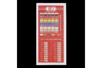 components SPARKFUN Resistor Kit - 1-4W (500 total), Sparkfun COM-10969