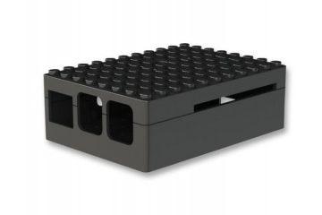 ohišja MULTICOMP MULTICOMP PI-BLOX ENCLOSURE, ABS, BLACK, CBPIBLOX-BLK