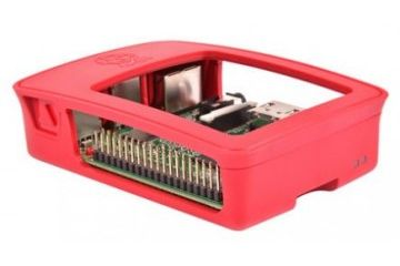 ohišja RASPBERRY PI Official Raspberry Pi 3 Model B, 2 B, B+ Development Board Case, Red, White, TZT 241 AAA-01