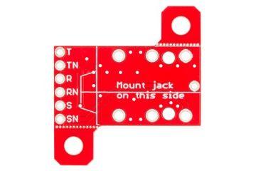 breakout boards  SPARKFUN SparkFun TRS Jack Breakout - 1 - 4 Stereo, spark fun 13005