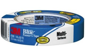 dodatki 3M Blue Masking Tape 209025, Bundling, Curved, Glass, Holding, Metal, Painted Walls, Sealing, Uneven Surfaces, Wood, 209025