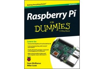 knjige JOHN WILEY & SONS Raspberry Pi For Dummies, Sean McManus, John Wiley & Sons, 9781118904916