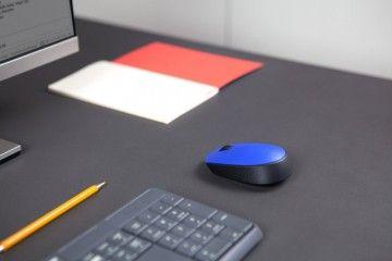 miške LOGITECH Miška LOGITECH M171 brezžična, Logitech, modra, 910-004640