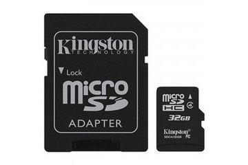 sd kartice KINGSTON 32 GB microSDHC Class 10, Flash Card W adapter, Kingston, SDC10G2-32GB