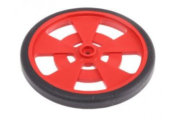 dodatki PARALLAX INC Red mobile robot wheel for servo motor, Parallax Inc, 721-00019