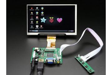 kabli ADAFRUIT 7 Inch Display no Touchscreen 1024x600- HDMI,VGA,NTSC,PAL, Adafruit, 2299