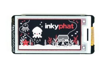 displays, monitors PIMORONI Black-White – Inky pHAT (ePaper-eInk-EPD), Pimoroni PIM368