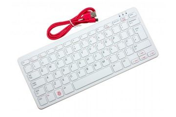 raspberry-pi RASPBERRY PI Official Raspberry Pi Keyboard, UK language, Red-White, RPi-KYB