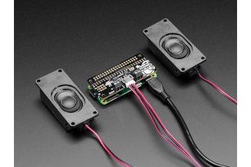 HATs ADAFRUIT Adafruit I2S 3W Stereo Speaker Bonnet for Raspberry Pi - Mini Kit, Adafruit 3346