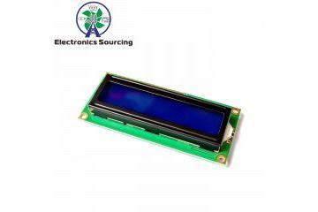 lcd-s JH ELEC. 1602A LCD Blue Screen 5V with Backlight, JH ELEC. YXA467