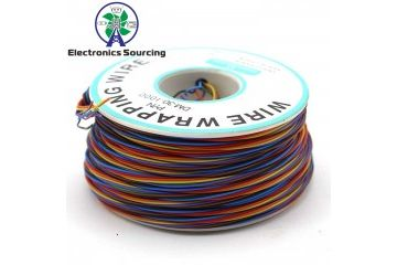 wires, headers JH ELEC. 30AWG 8 colors OK Wire Wrapping Wire Aircraft Fly Wire B-30-1000, JH ELEC. YXA386