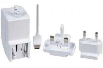 kabli STONTRONICS Raspberry Pi Accessory, Raspberry Pi 4 Model B PSU, USB-C, 5.1V, 3A, UK-EU Plugs, White, Stontronic T7730DV