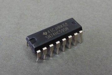 components TEXAS INSTRUMENTS TEXAS INSTRUMENTS - SHIFT REGISTER, 8BIT, 74HC595, DIP16 - SN74HC595N