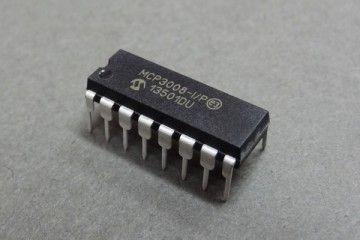 components MICROCHIP MICROCHIP - 10BIT ADC, 2.7V, 8CH, SPI, 16DIP - MCP3008-I P