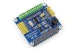 HATs WAVESHARE Raspberry Pi High-Precision AD-DA Expansion Board, Waveshare 11010