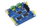HATs WAVESHARE 2-Channel Isolated CAN Expansion HAT for Raspberry Pi, Dual Chips Solution, Waveshare 17912