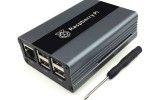 ohišja JH ELECTRONICS Raspberry Pi 2, 3, 3B+ Aluminum Alloy Case, Black